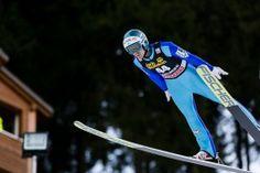 Michael Hayboeck, Österreich, beim FIS Skispringen Weltcup in Engelberg / Schweiz | Fotojournalist Kassel http://blog.ks-fotografie.net/pressefotografie/fis-skispringen-engelberg-schweiz-fotografiert/