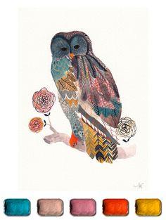 The Artist's Palette :: Illustration Friday