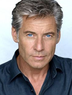 Salt and Pepper Gray Haired Man.