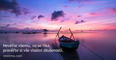 Myšlenky dne na vestirna.com - Věštírna.com Online