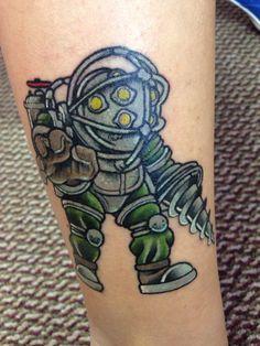 1000 images about bioshock tattoo on pinterest bioshock for Bioshock wrist tattoo