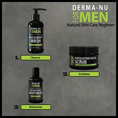 LOOK -  Anti Aging Facial Moisturizer for Men By Derma