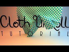 Cloth Unroll turotial / Cinema 4D / MK-Graphics (SK,HD-720p) - YouTube