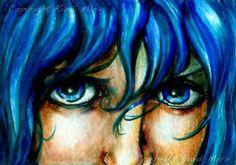 Watery Eyesby Randi Marx  New Colored Pencil Art Gallery