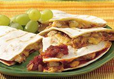 Grilled Enchilada Quesadillas