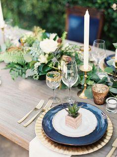 Photography: Ashley Bosnick Photography - ashleybosnick.com Photography: Tracy Enoch Photography - tracyenochphotography.com Read More: http://www.stylemepretty.com/2014/10/28/romantic-navy-italian-inspired-wedding/