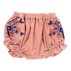Tila Velvet Embroidered Bloomers-product