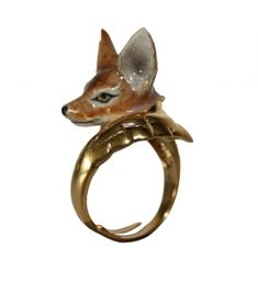 Adjustable ring fox- reminds me of little china animal figurines I collected as a child