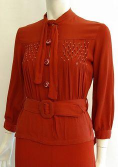 2 piece smocked blouse & skirt ~  | kickshawdress | Flickr - Photo Sharing!