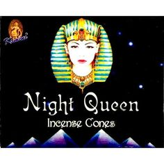 Kamini Incense Cones - Night Queen - 120 cones per box. Night Queen is also known as Night Jasmin or 'Raat Ki Rani' in India. When you need an energy boost, reach for a cone of Kamini Night Queen Incense. Smoke Drawing, Hippie House, Flowering Bushes, Incense Cones, Good Night Sleep, Delicate, Queen, Box, Fragrance