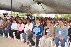 Los habitantes de la colonia Unidad y Esfuerzo agradecen la construcción de la red de agua potable y estación de bombeo.