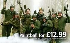 UK Paintball - Paintballing - Paintball Games
