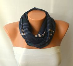 infinity scarf  infinity winter scarf circle scarf  loop by bstyle, $23.00