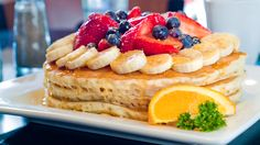 BREAKFAST IDEA: Try a bite of these pancakes and you'll be hooked, head to Keke's Breakfast Cafe!