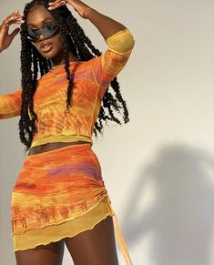 Fashion Killa, Look Fashion, Girl Fashion, Womens Fashion, Look Hip Hop, Mode Outfits, Fashion Outfits, Fashion Clothes, Black Girl Aesthetic