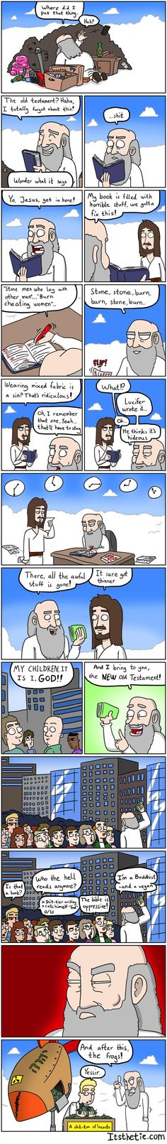 Adventures of God: the New Old Testament