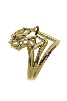 Xin - Shan Shi signature gold ring