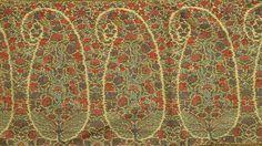 Scotland antique paisley shawl
