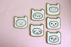 «Adventure Time cookies»   by Uhmmm Cookies!