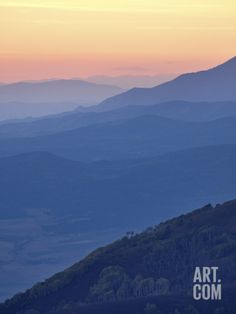 Mountain Layers at Sunset, Manti-La Sal National Forest, Utah, USA, North America Photographic Print by James Hager at Art.com
