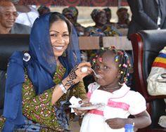 La première dame du Tchad et ses cinq enfants ont été naturalisés