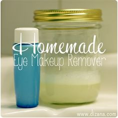 From Scratch: Homemade Eye Makeup Remover