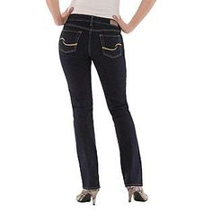 Signature by Levi Strauss & Co.™ Women's Totally Slimming Straight Jeans