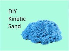 DIY Kinetic Sand : Crafty Tube