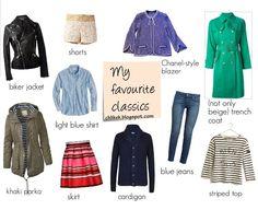 My wardrobe staples