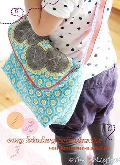 bag sewing kids kindergartentasche