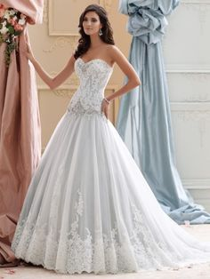 Wedding dresses lace ballgown drop waist ideas for 2019 dresses trumpet drop waist Wedding dresses lace ballgown drop waist ideas for 2019 Wedding Dresses Photos, Wedding Dresses For Sale, Bridal Dresses, Trendy Wedding, Lace Wedding, Dream Wedding, Wedding Stuff, Wedding Gowns, Wedding Ideas