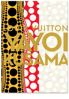 Louis Vuitton Book. Art by Yayoi Kusama http://ginza.doverstreetmarket.com/new/louis_vuitton.html