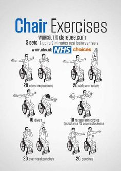 Exercise An energy-boosting routine for wheelchair users that helps to increase upper body strength and cardiovascular fitness, as well as ease joint stiffness, . Elderly Activities, Senior Activities, Physical Activities, Activities For Dementia Patients, Art Activities, Fitness Senior, Fitness Life, Abs Workout Video, Chair Exercises