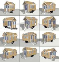 """12 new and improved tiny house plans available for $79 for 5 days only. After the sale is over the plans will be available individually for $29 each."""" – Tiny House Design"""