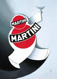 • Vintage Martini Ad by M. Gros