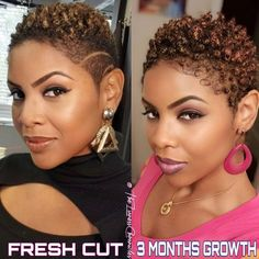 Black Natural Hair Care, Natural Hair Short Cuts, Natural Hair Styles For Black Women, Short Hair Cuts, Au Natural, Twa Hairstyles, Cute Hairstyles For Short Hair, Curly Hair Styles, Tapered Haircut Natural Hair