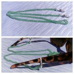 Szemüveglánc - kalotaszegi gyöngyszalag mintájára