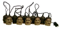 Texas Chainsaw Massacre - Head Lites - Leatherface Decorative Light Set - NECA  OH, NECA... the things you guys come up with.