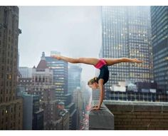 Awe-Inspiring Athletic Portraits - The Martin Schoeller Olympic Series is Death-Defying