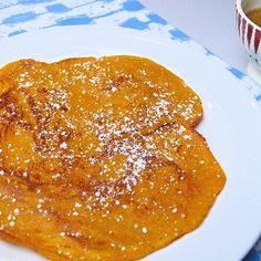 Kürbispfannkuchen mit frischem Apfelmus Rezept | Küchengötter