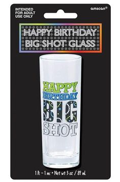 Happy Birthday Big Shot Glass