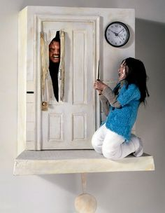 No more cuckooing of the clocks and no more those cute cuckoos chirping the time. Artist Chris Domino gives a new take to chirpy clocks with the Shining Cuckoo clock. Inspired from the scene of a famous horror movie The Shining, the clock not only.