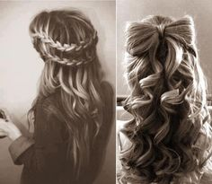 blonde, braids, cute, hair - inspiring picture on Favim.com