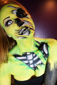 Zombie Body Paint by MadeULook/Lex