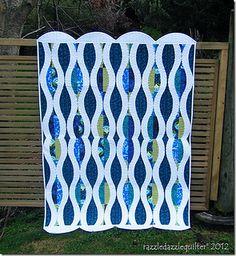 Linda's Quilt by Sew Kind of Wonderful, via Flickr