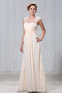 Gorgeous A-Line Floor-Length Appliques Veronika's Evening/Mother of Brides Dress
