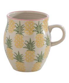 Look what I found on #zulily! Pippa Pineapple Mug #zulilyfinds