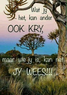 Jy is uniek, daar is niemand soos jy. Good Morning Friends Images, Good Morning Wishes, Strong Quotes, True Quotes, Sea Quotes, Forever Love Quotes, Live Life Happy, Afrikaanse Quotes, Inspirational Quotes About Success
