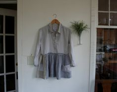 Hand Crafted Recycled Shirt /  by by BreatheAgainDesign on Etsy
