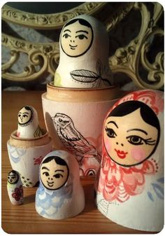 Matryoshka dolls are one of my favorite things in the world.